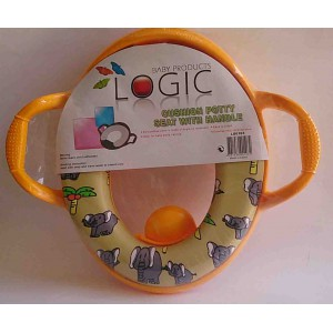 LOGIC CUSHIAON POTTY SEAT WITH HANDLE