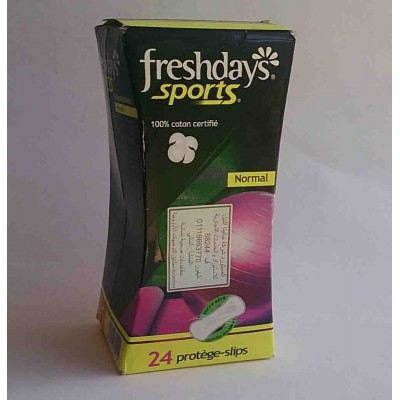 freshdays sports normal 24 pcs