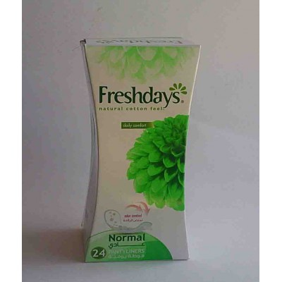 freshdays normal natural cotton feel 25 pcs