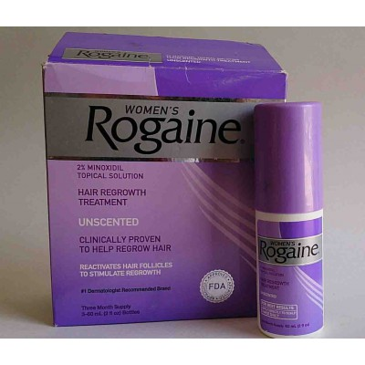 women Rogaine 2% MINOXIDIL TOPICAL SOLUTION