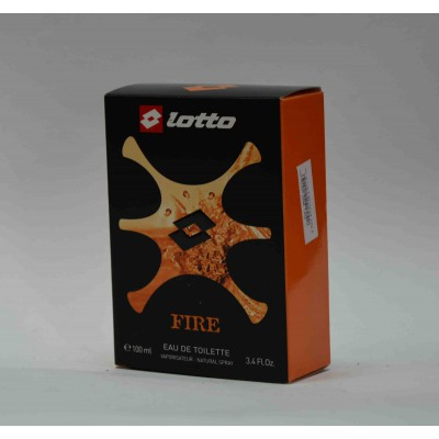lotto fire  natural spray 100 ml