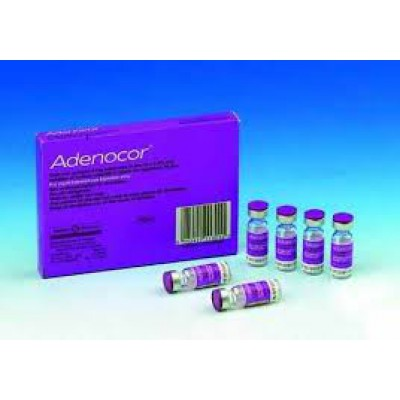 Adenocor 6mg 6vials (Adenosin )