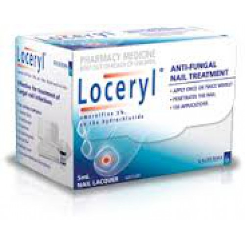 Loceryl amorolfine 5