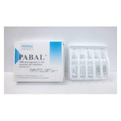 Pabal 100 micrograms in 1ml solution for injection 1 ampoule ( Carbetocin )