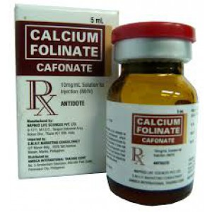 Calcium Folinate 30mg /10ml5vials  (Calcium Folinate )