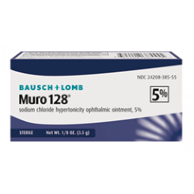 Muro 128 5% Ointment ( Sodium Chloride Hypertonicity Ophthalmic Ointment, 5% )