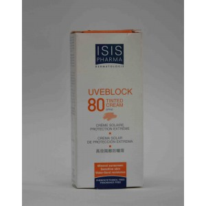 ISIS UVEBLOCK 80 tinted cream 40 ml