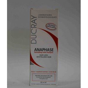DUCRAY ANAPHASE stimulating cream shampoo 200 ml