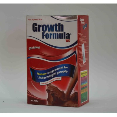 Growth formula dietry supplement for underweight people