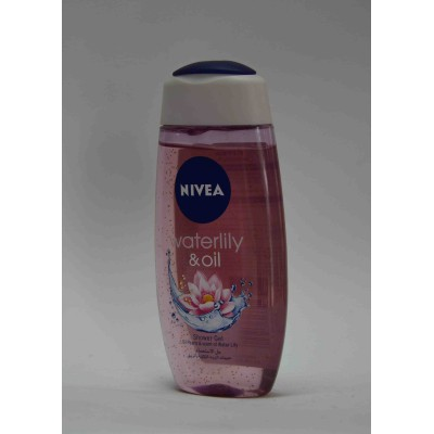 NIVEA waterlity and oil shower gel 250 ml