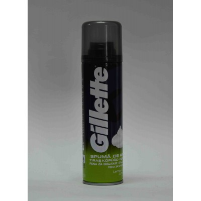Gillette limon lime shaving gel 270 ml