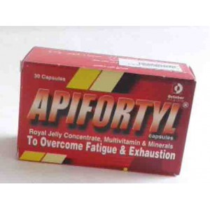 APIFORTYL 30 CAPSULES MULTI VITAMINS AND MINERALS