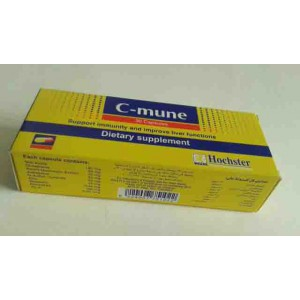 C-mune 30 capsules support immunity and improve liver function