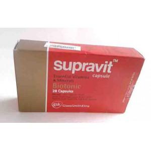 suppravit 28 capsules essential vitamins and biotonic