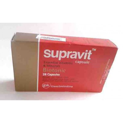 supravit 28 capsules essential vitamins and biotonic
