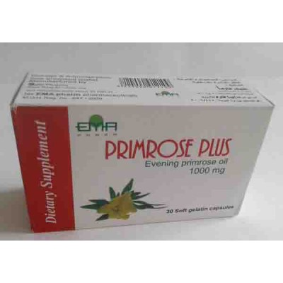 PRIMOROSE PLUS 1000 mg 30 caps  ( evening primrose oil )
