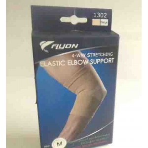 Flyon elastic elbow support large