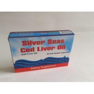 silver seas cod liver oil 20 capsules ( cod liver oil )