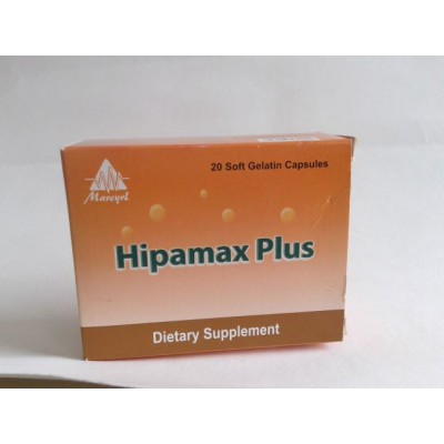 Hipamax Plus 20 Capsule Glutathione50 mg Vit B12 mg Vit C60 mg Vit B22 mg Vit E30 mg Vit B62.5 mg Selenium50 mcg Vit B1212 mcg Zinc15 mg Nicotinamide2 mg Silymarin140 mg