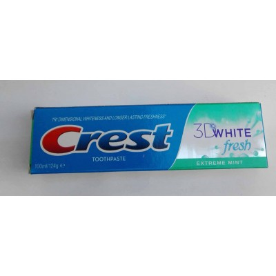 crest 3D white fresh tppthpastev100ml/124g