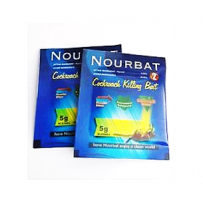 NOURBAT COCKROCH KILLING BAIT 5 GM 6 PACKS