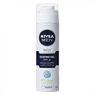 Nivea Shaving Gel For Sensitive Skin - 200ml