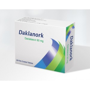DAKLANORK ( Daclatasvir 60 mg ) 28 film coated tablets