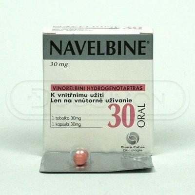 Navelbine 30mg  capsule (vinorlbin )