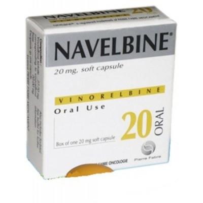 Navelbine 20 mg cap ( vinorlbine )