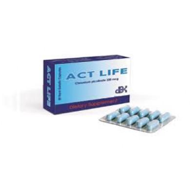 ACT LIFE  (chromium picloinate 200mcg) 20 capsule
