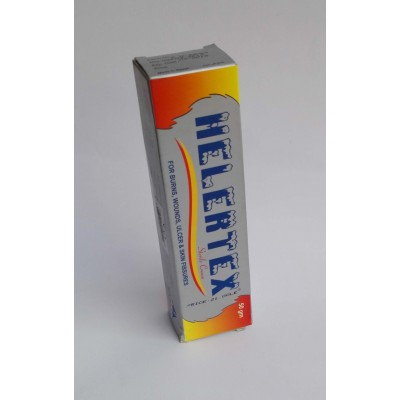 HELERTEX strile cream for burns , wounds , ulcer and skin fissures