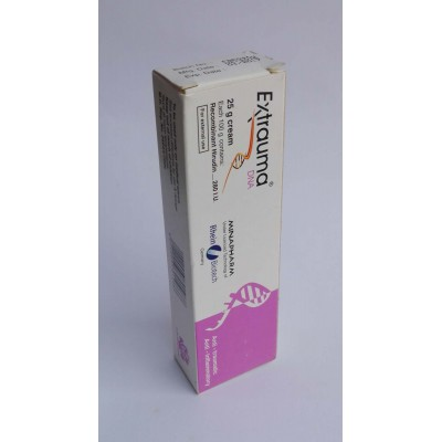 Extrauma DNA ( recombenant hirudin 280 i.u ) 25 gm cream for external use