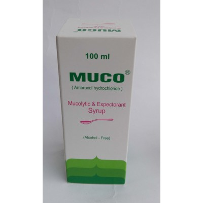 MUCO ( abroxole hydrochloride ) syrup 100 ml
