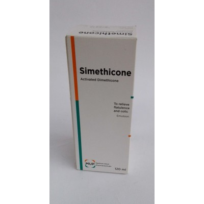 Simethicone ( activated dimethicone emulsion ) 120 ml to releive flatulance and colic