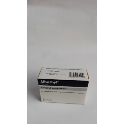 Albothyl ( policresulen ) 8 vaginal suppositories
