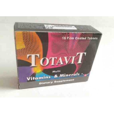 TOTAVIT 15 TABLETS vitamins and minerals