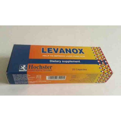 LEVANOX 20 capsules help to improve liver function