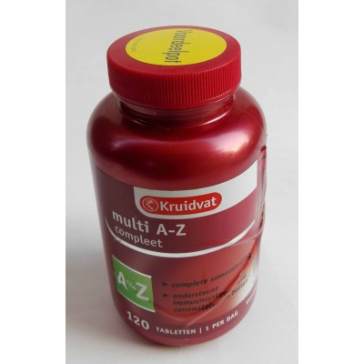 multi A-Z compleet 120 tablets