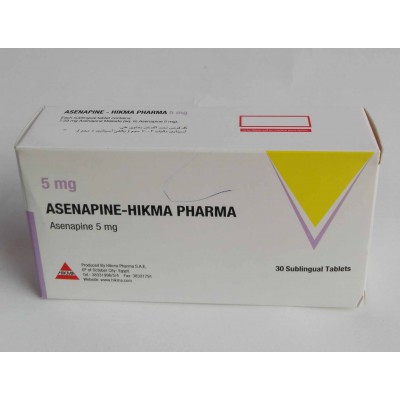 ASENAPINE-HIKMA PHARMA 30 SULINGUAL tablets