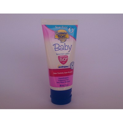 BANANA BOAT Baby  ( sunscreen lotion )