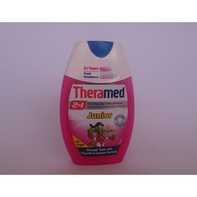Theramed 2 in 1 toothpast + mouthrinse