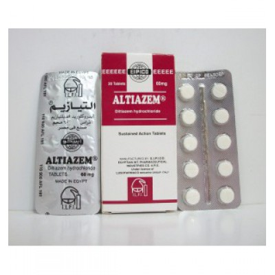 ATIAZEM ( diltiazem hydrochloride 60 mg ) 20 modified release tables