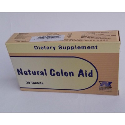 Natural Colon Aid 20 tablets