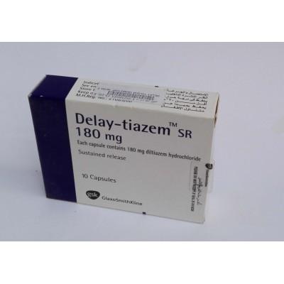 Delay-tiazem ( diltiazem hydrochloride 180 mg ) 10 capsules