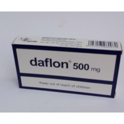 daflon 500 mg ( diosmin + hesperidin ) 30 coated tablets