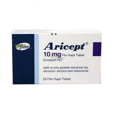 Aricept ( donepezil HCl  10 mg ) 14 tablets