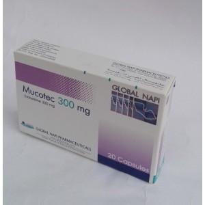 Mucotec ( Erdosteine 300 mg ) 20 capsules