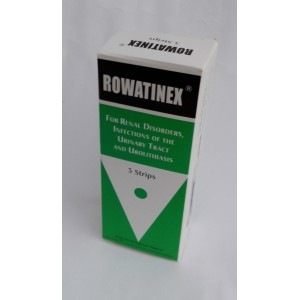 ROWATINEX ( pinen - pinen - camphene + borneol + anethol + fenchone + cineol + Olive oil ) 30 capsules