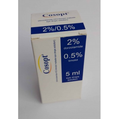 Cosopt ( dorzolamide HCl - timolol malaate eye drops solution )
