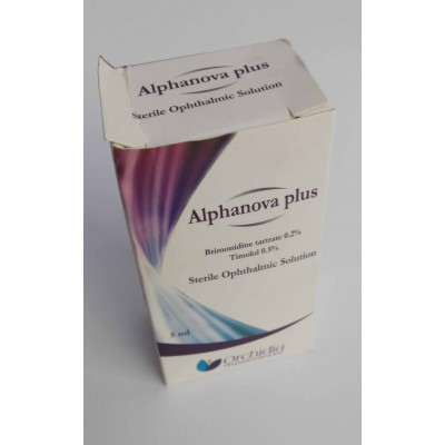 Aiphanova plus sterile ophthalmic solution 5 ml
